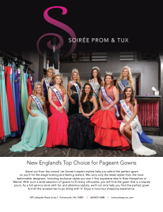 Soiree Pageant Ad