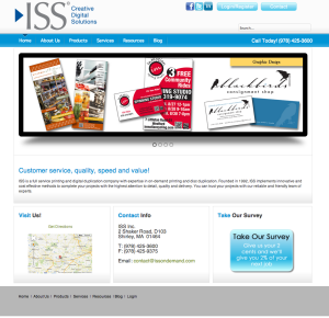 ISS home page