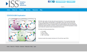 ISS product page